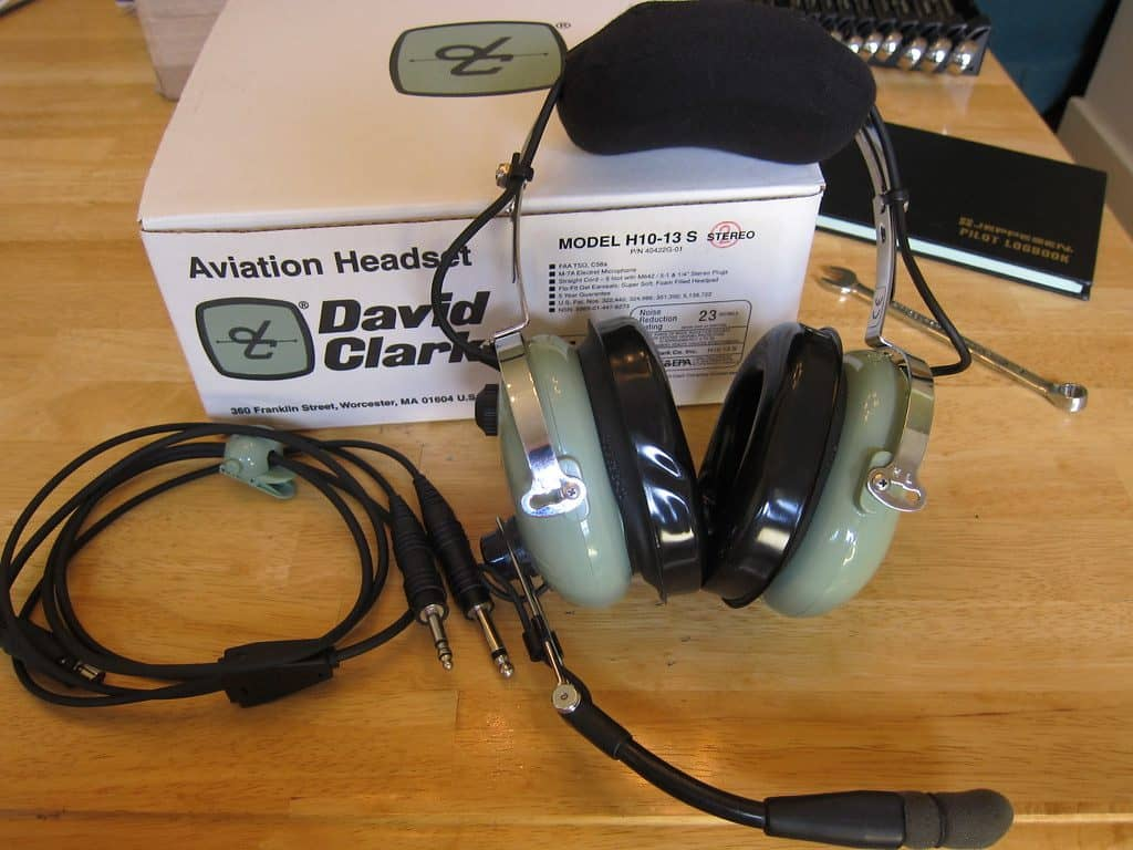 Image showing one of the top and most popular aviation headsets